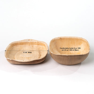 "5"" Snack Bowls with Lids (8 oz) - 10 Sets - Naturally Chic"