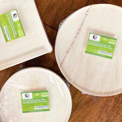 Naturally Chic Palm Leaf Cheese Boards