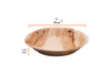 "7"" Round Deep Plates - 25 Pack - Naturally Chic"