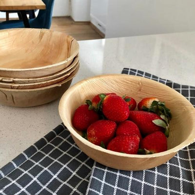 "7"" Round Bowls (25 oz) - 25 Pack - Naturally Chic"