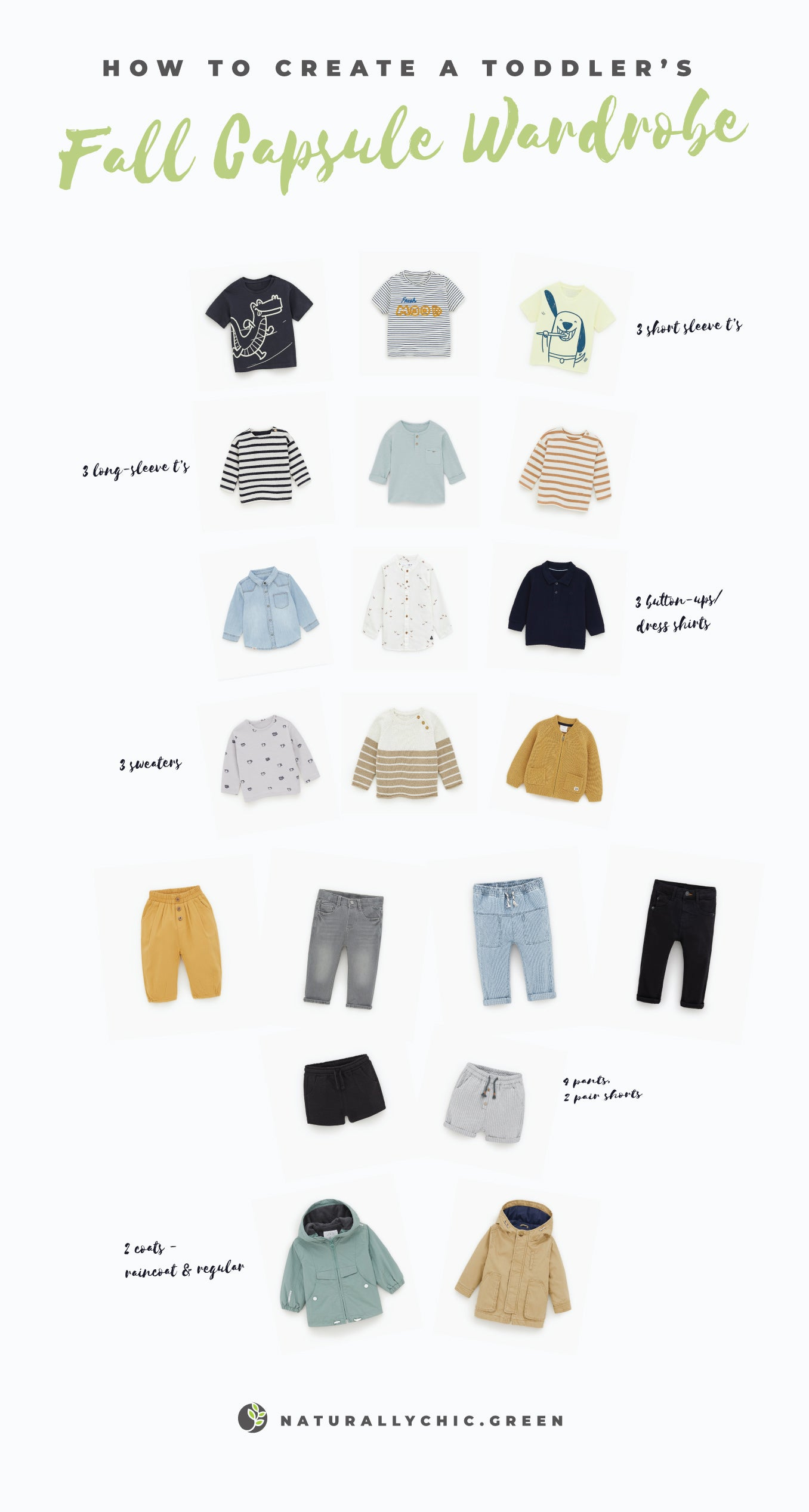 todders capsule wardrobe for fall