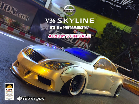 Team Tetsujin NISSAN SKYLINE (V36) LB☆performance