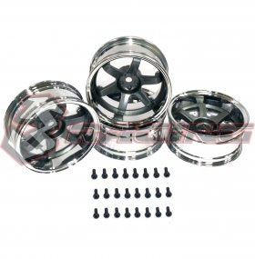 3Racing T37 6 spoke Rims 8J - 11J