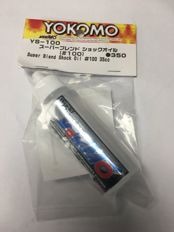 YOKOMO Super Blend Shock Oil (#100) (YS-100)