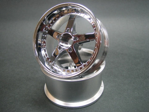 MIKUNI WORK EQUIP WHEEL OFFSET 7 CHROME DW-1129CS
