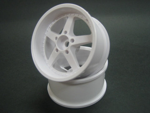 MIKUNI WORK EQUIP WHEEL OFFSET 7 WHITE DW-1127WH