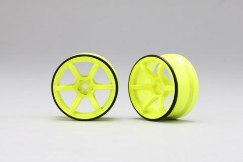 YOKOMO RP DRIFT WHEEL HIGH TRACTION TYPE YELLOW (RP-6313Y6)