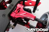 OD2425 Adjustable Front Suspension Arm Type-2 (For OD / Red)