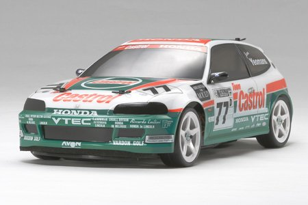 TAMIYA HONDA CIVIC CASTROL VTI BODY