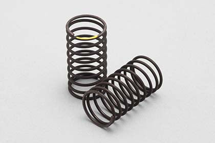 YOKOMO 32mm Regular Pitch Drift Spring 1.2 x 9.5 coils Yellow (D-170Y)