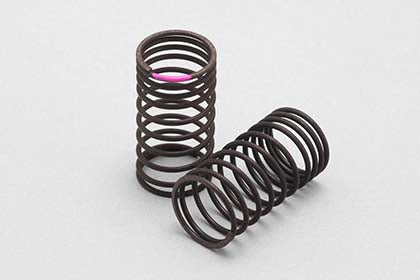YOKOMO 32mm Variable Pitch Drift Spring 1.2 x 10.5 coils Pink (D-171P)
