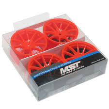 MST 102051O G25 Wheel Offset +3 Orange 4PC