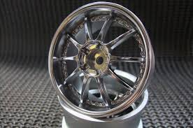 TOP LINE Blitz Technospeed Z1 Wheel Matt Chrome Offset 5mm