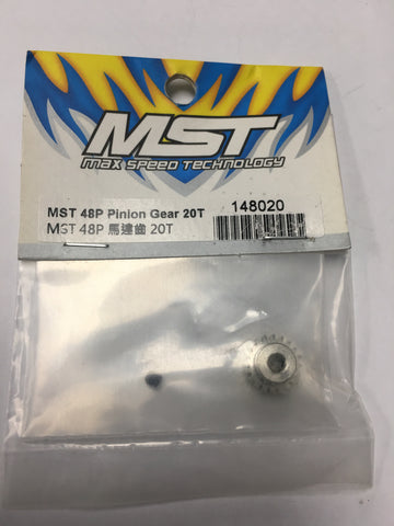 MST Pinion Gear 48 Pitch / 20T #148020