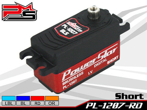 PowerStar Digital Servo Brushless motor RED PL1207RD
