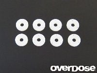 OD1243 PTFE Shock piston set (φ0.6x3/φ0.7x3/φ0.8x3/Blank) /DRB, DIB