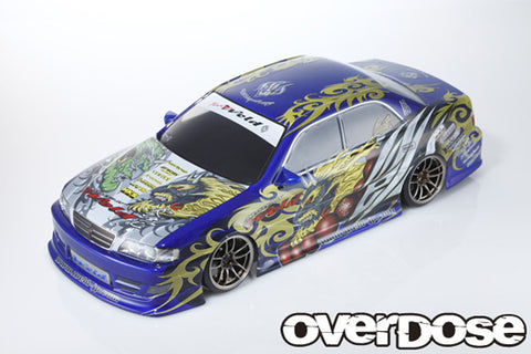 OD1680 WELD X OVERDOSE Toyota JZX100 Chaser <Team Weld FujinRaijin graphic decal set>