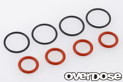 OD 2009 O-ring set / HG shock  / S 8 x 4, SS 12 x 4)