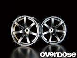 OD1188 WORK EMOTION XT-7 (Matte Chrome / OFF + 5)