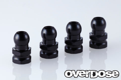 OD1966a Aluminum Shock Stand Off (Black/4pcs)