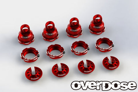 OD2499 High Grade Shock Color Change Set (For HG Shock Spec.2/Red)