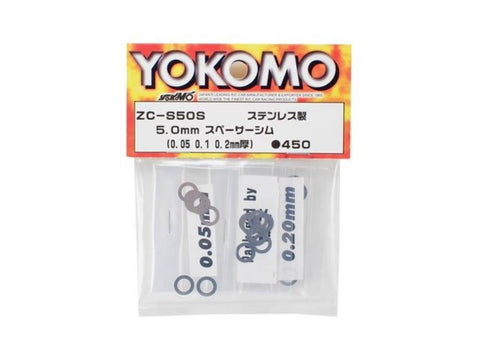YOKOMO 5.0MM SPACER SHIM ( ZC-S50S )