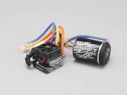 BL-PRO4 Brushless Combo DRIFT SPEC (ESC + Brushless 10.5T Motor) BL-P4105D