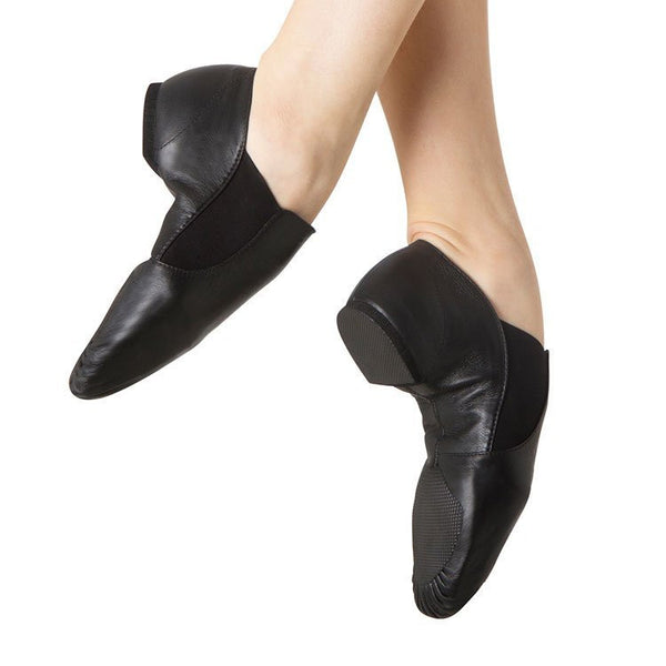 Bloch S0499G -Elasta Bootie Jazz Shoe Child