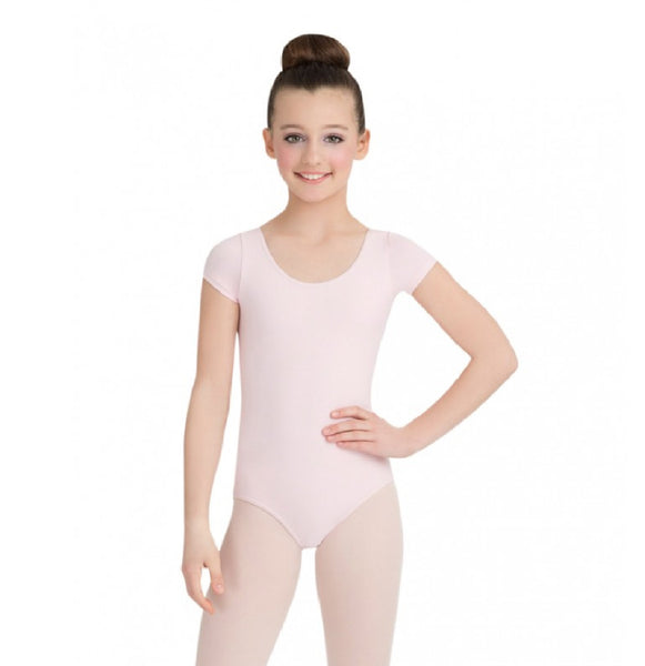 Capezio CC400C - Short Sleeve Leotard Cotton Child