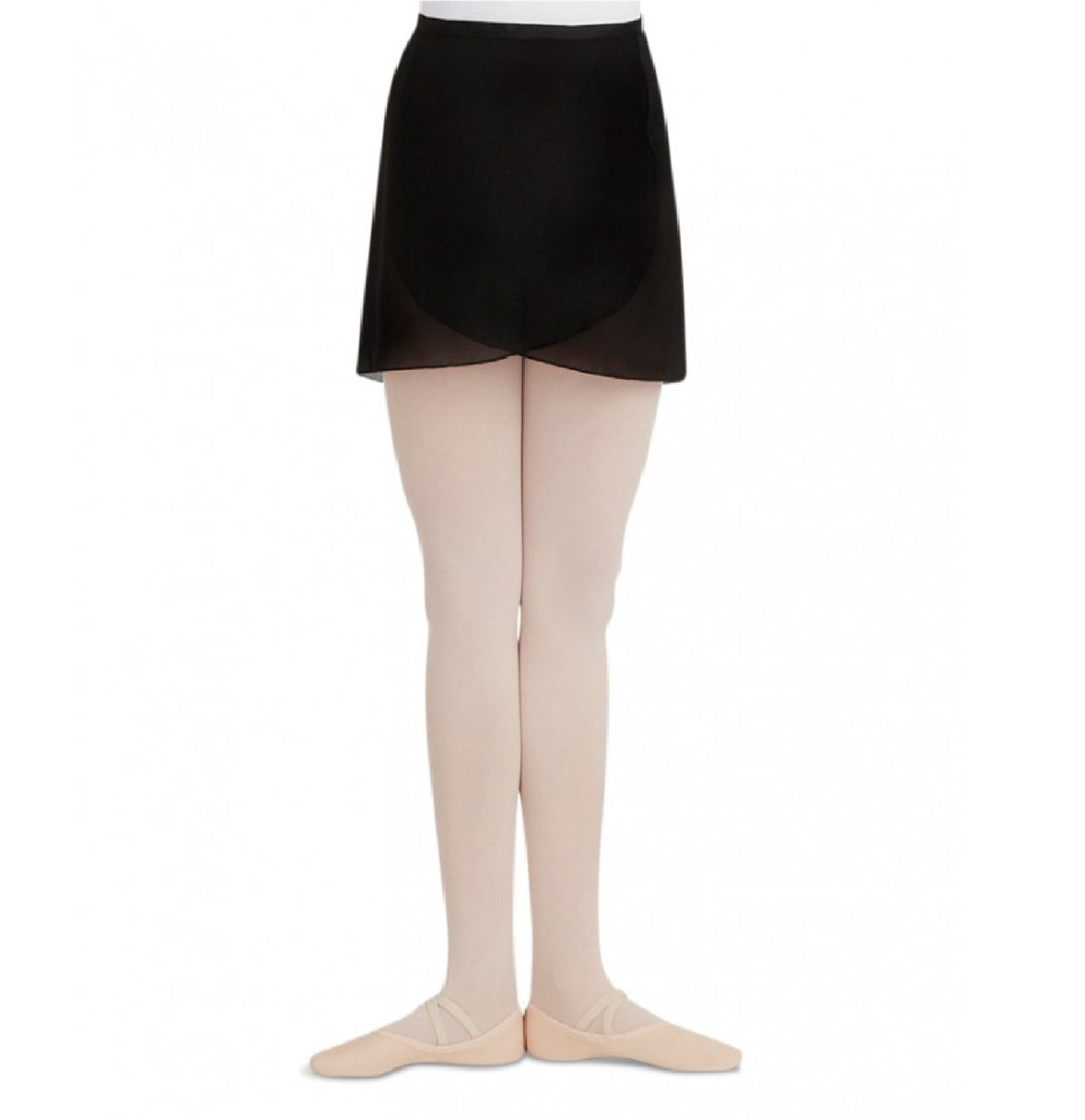 Capezio N272 - Georgette Wrap Skirt Adult