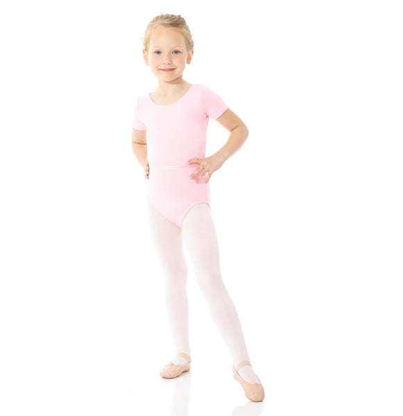 Mondor 1635 - Short Sleeve Leotard Cotton Child