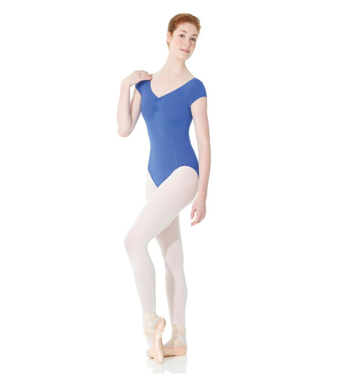 decfbcb92 Mondor 3506C - Pinch Front and Back Leotard Child