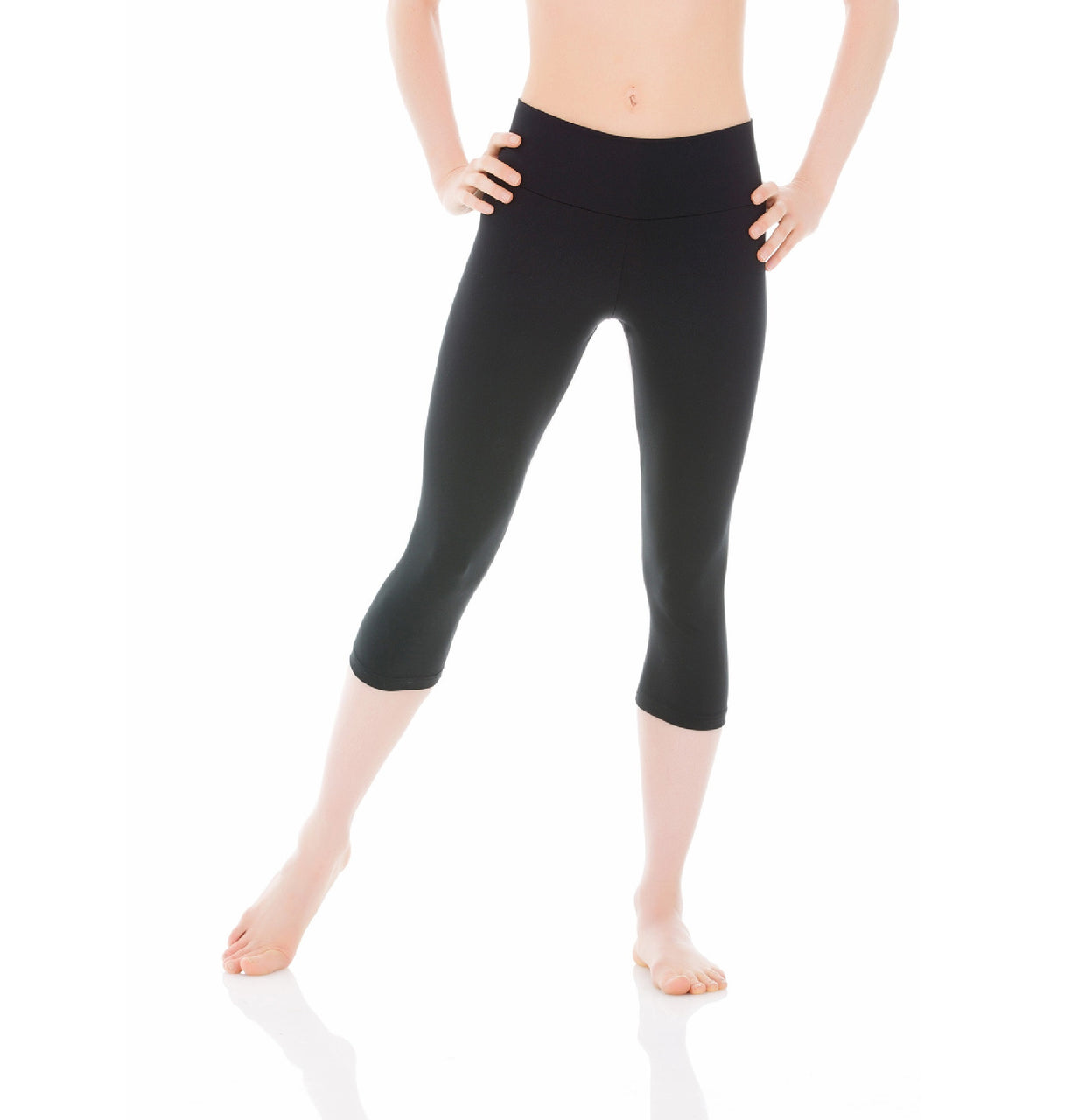 Mondor 3532 - Matrix Wide Band Capri Legging Adult