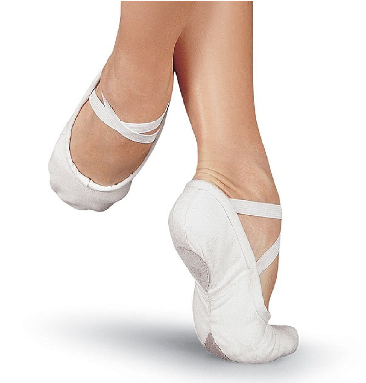 Sansha Pro1C - Canvas Ballet Shoe White Adult