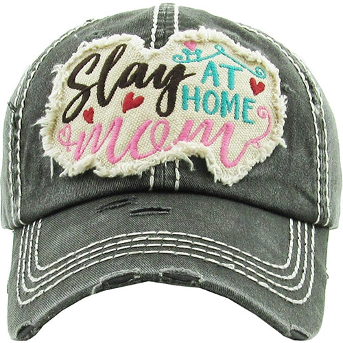 SLAY AT HOME MOM HAT - Print House Boutique