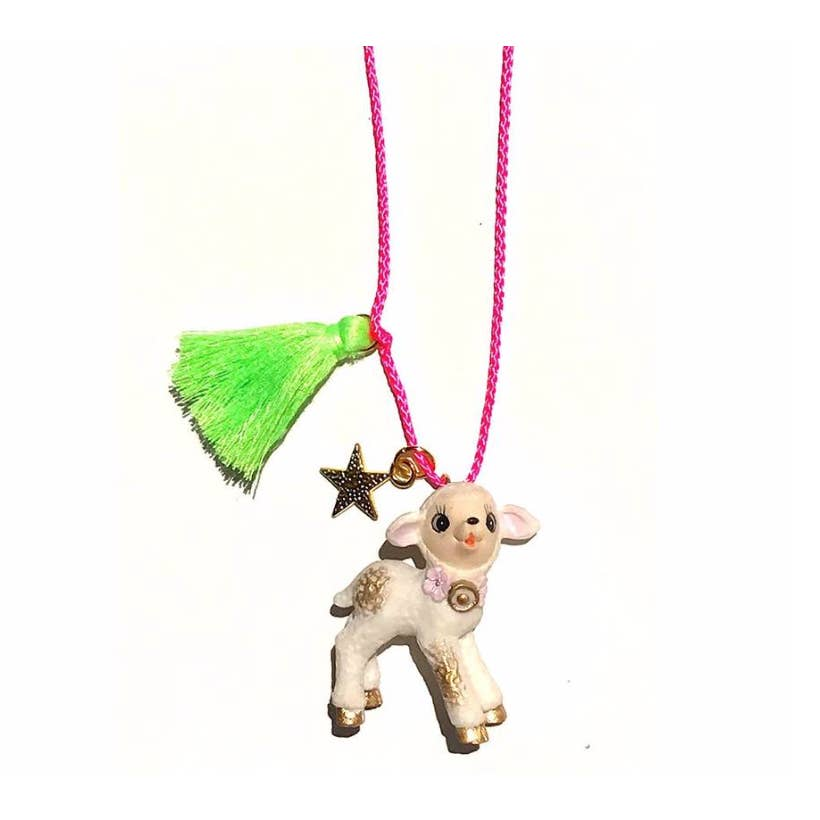La La the Lamb Necklace by Gunner & Lux