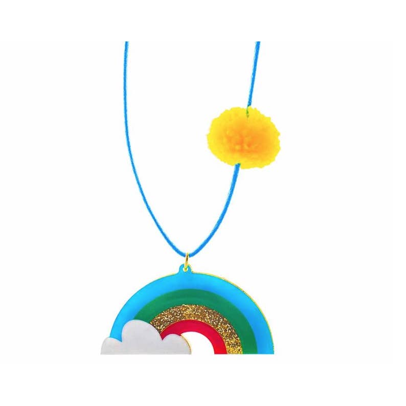 Rainbows Are Awesome! Necklace by Gunner & Lux