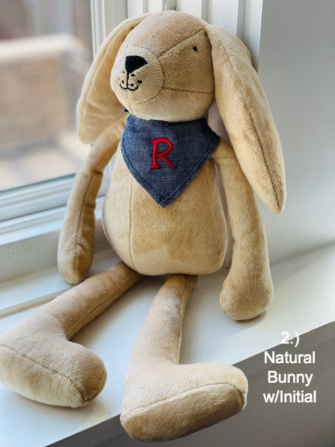 PERSONALIZED BUNNY-IN-A-BAG-by the EASTER BUNNY from Pyar&Co. Shop