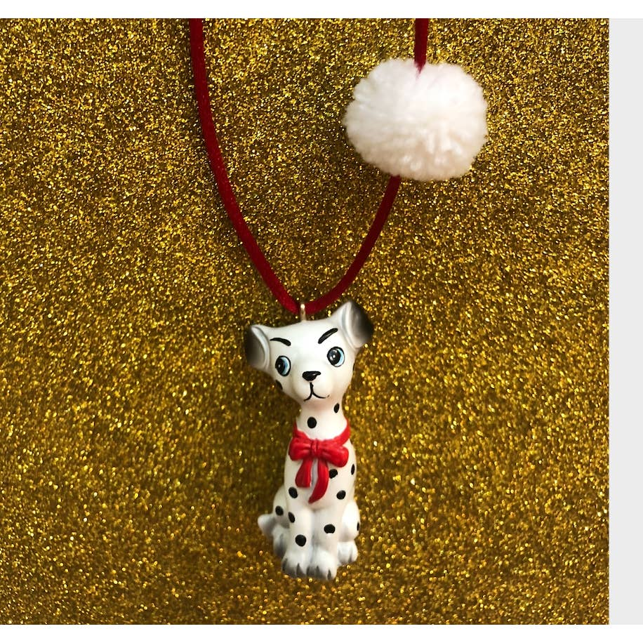 Dakota the Dalmatian Necklace by Gunner & Lux