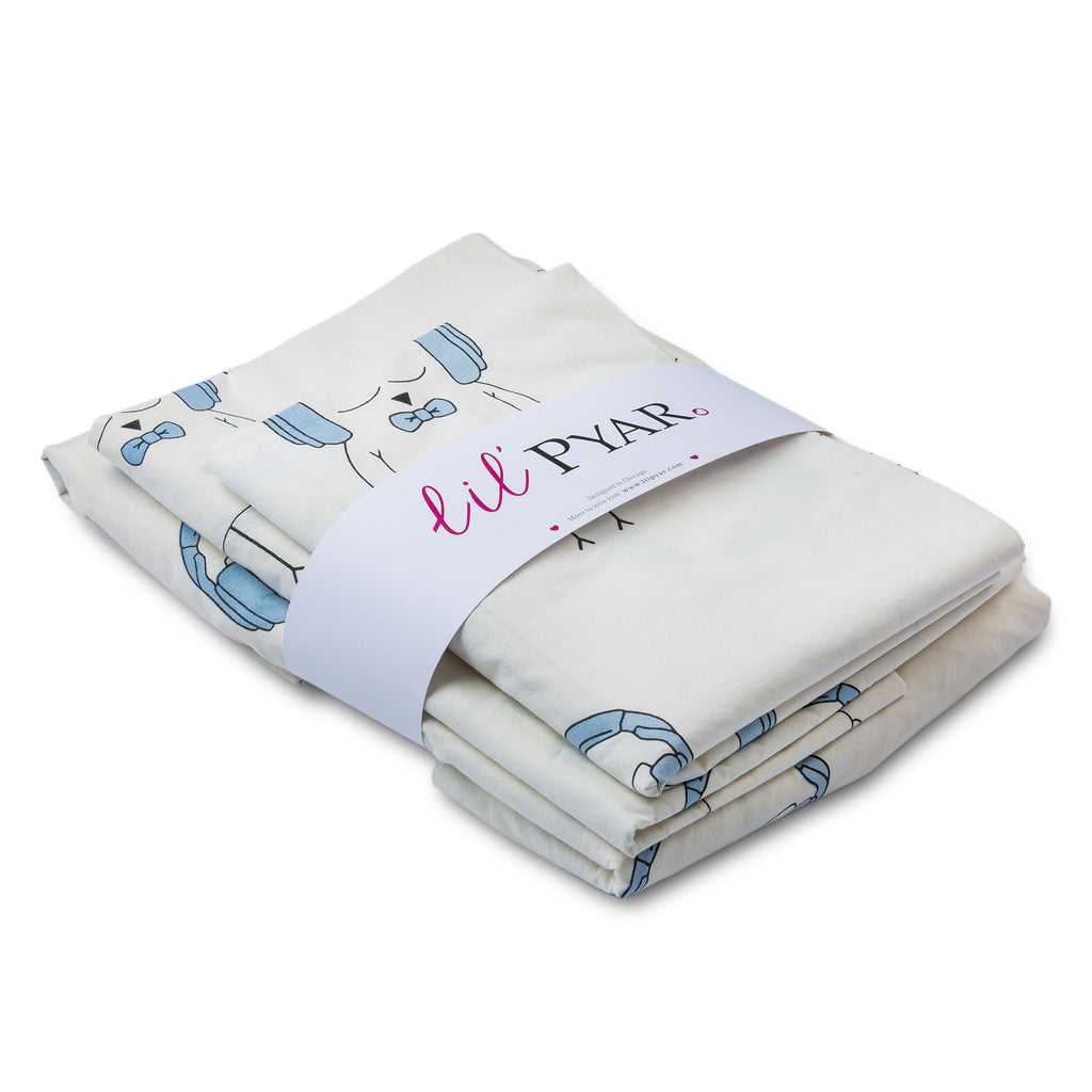 LIL' PYAR OLLIE TWIN SHEET SET