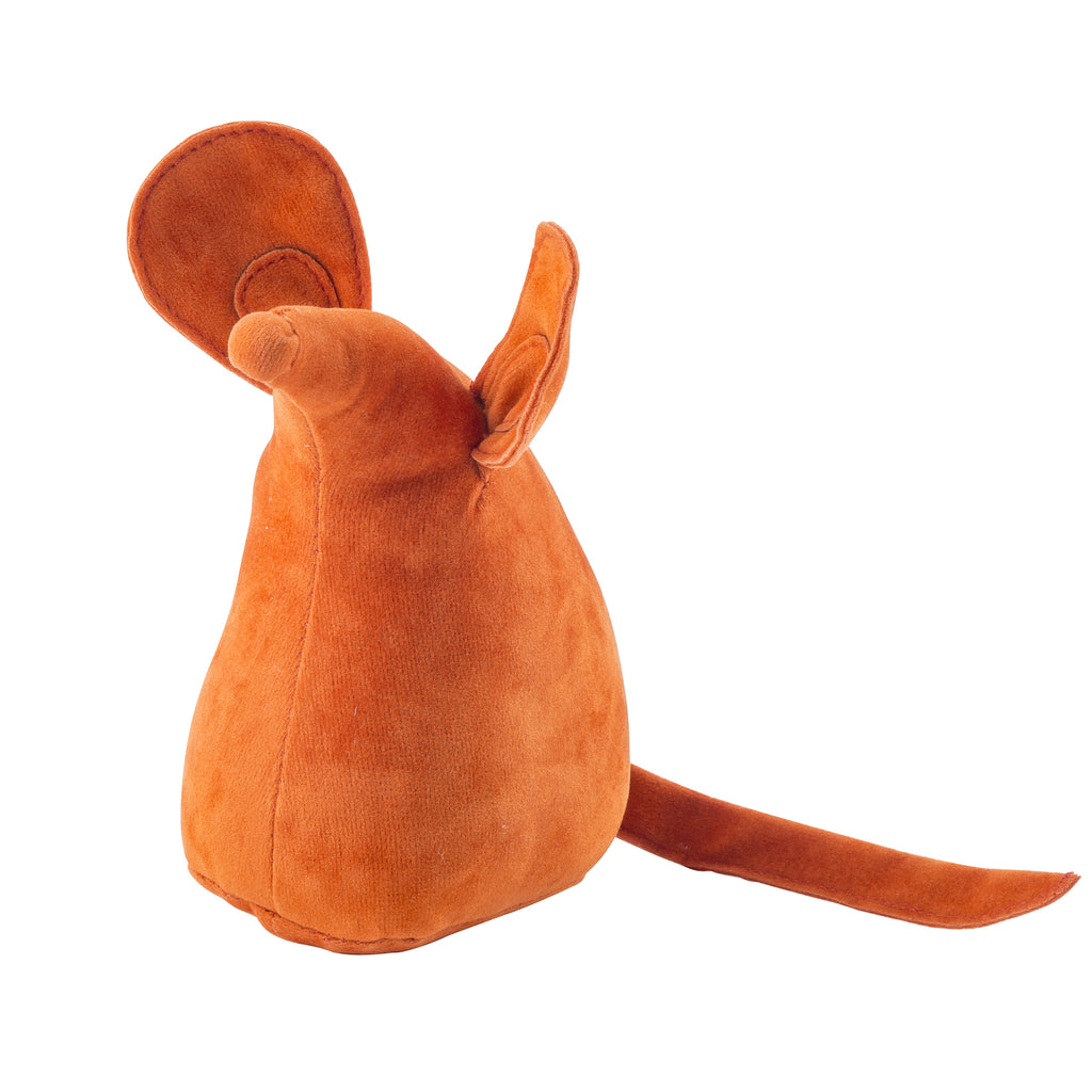 Orange Mouse Weighted Bookend or Desk Accessory