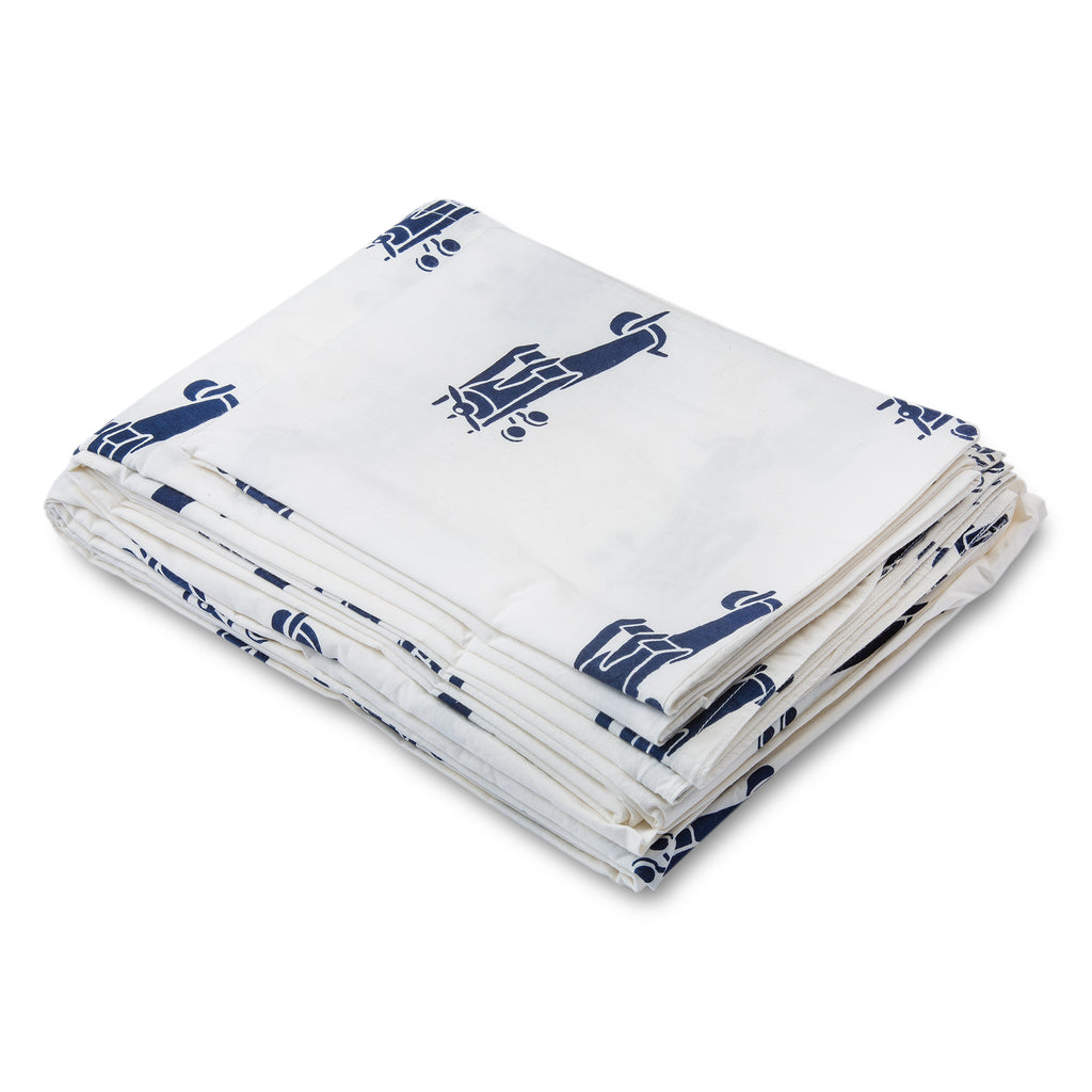 LIL' PYAR AIRPLANES TWIN SHEET SET
