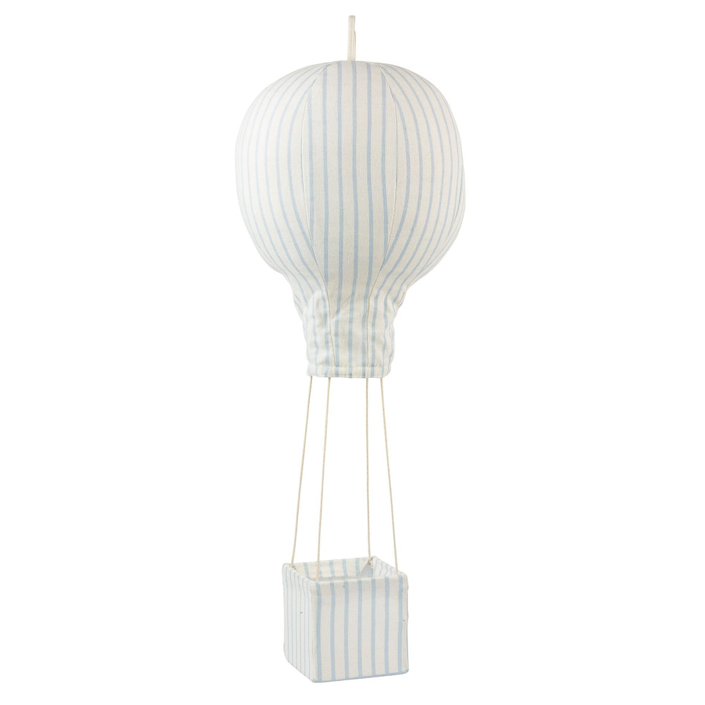 Lil' Pyar Pinstriped Hot Air Balloon Mobile, Light Blue