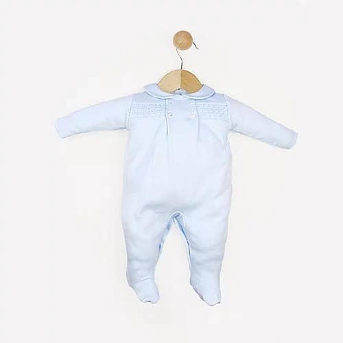 Light Blue Footed Baby Pajama