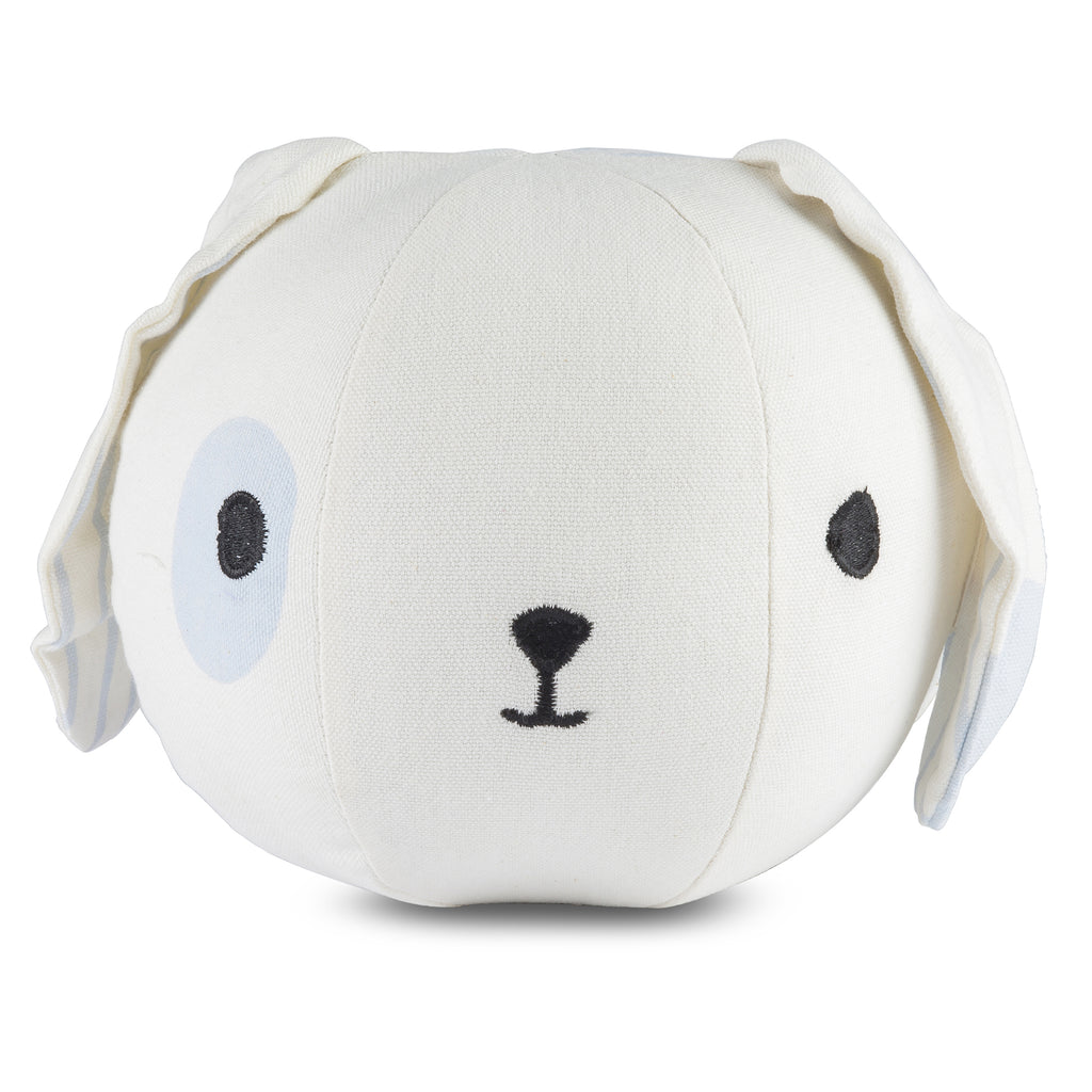 Light Blue Puppy Rattle Sensory Ball
