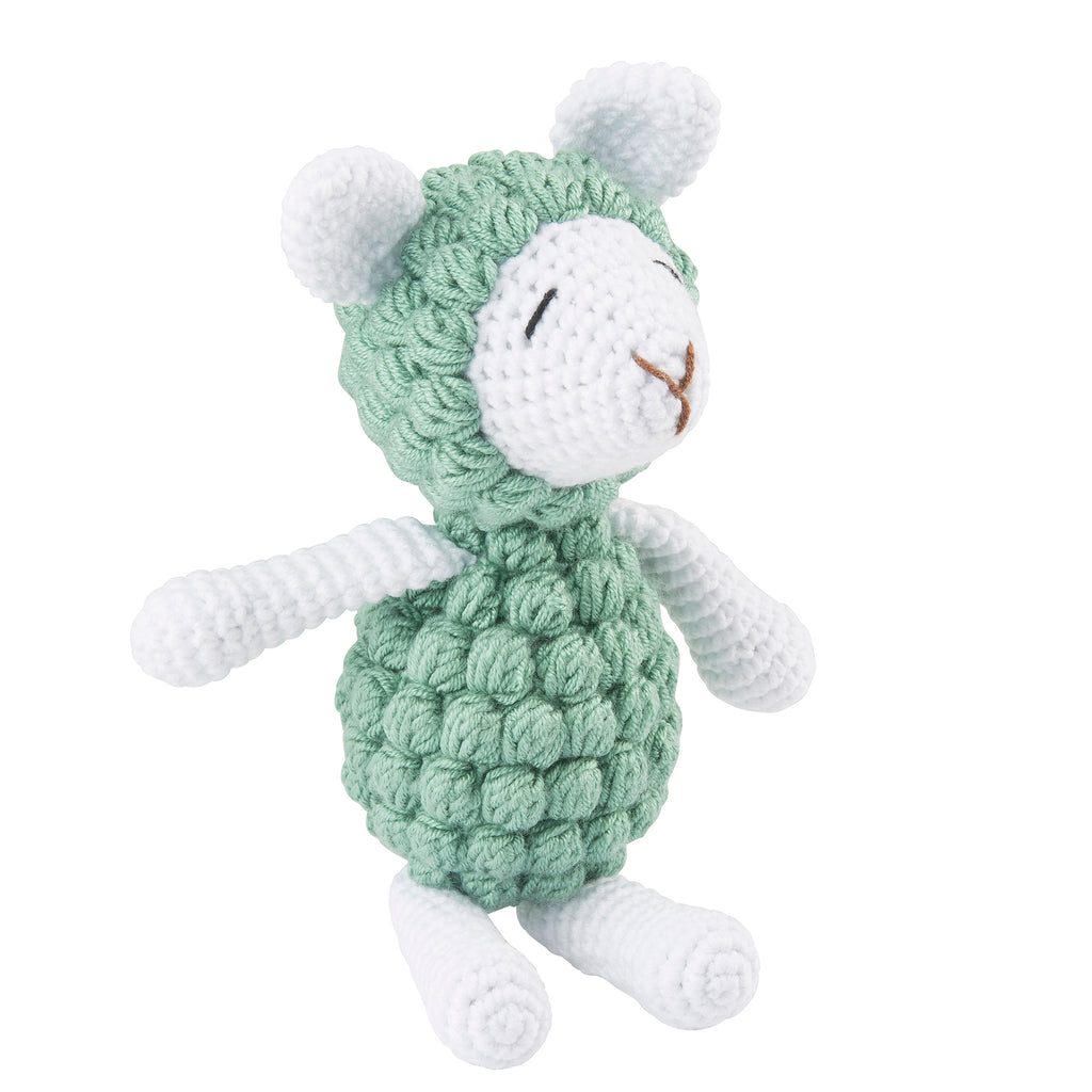 Lil' Pyar Knit Lamb; Small Knit Lamb; Green