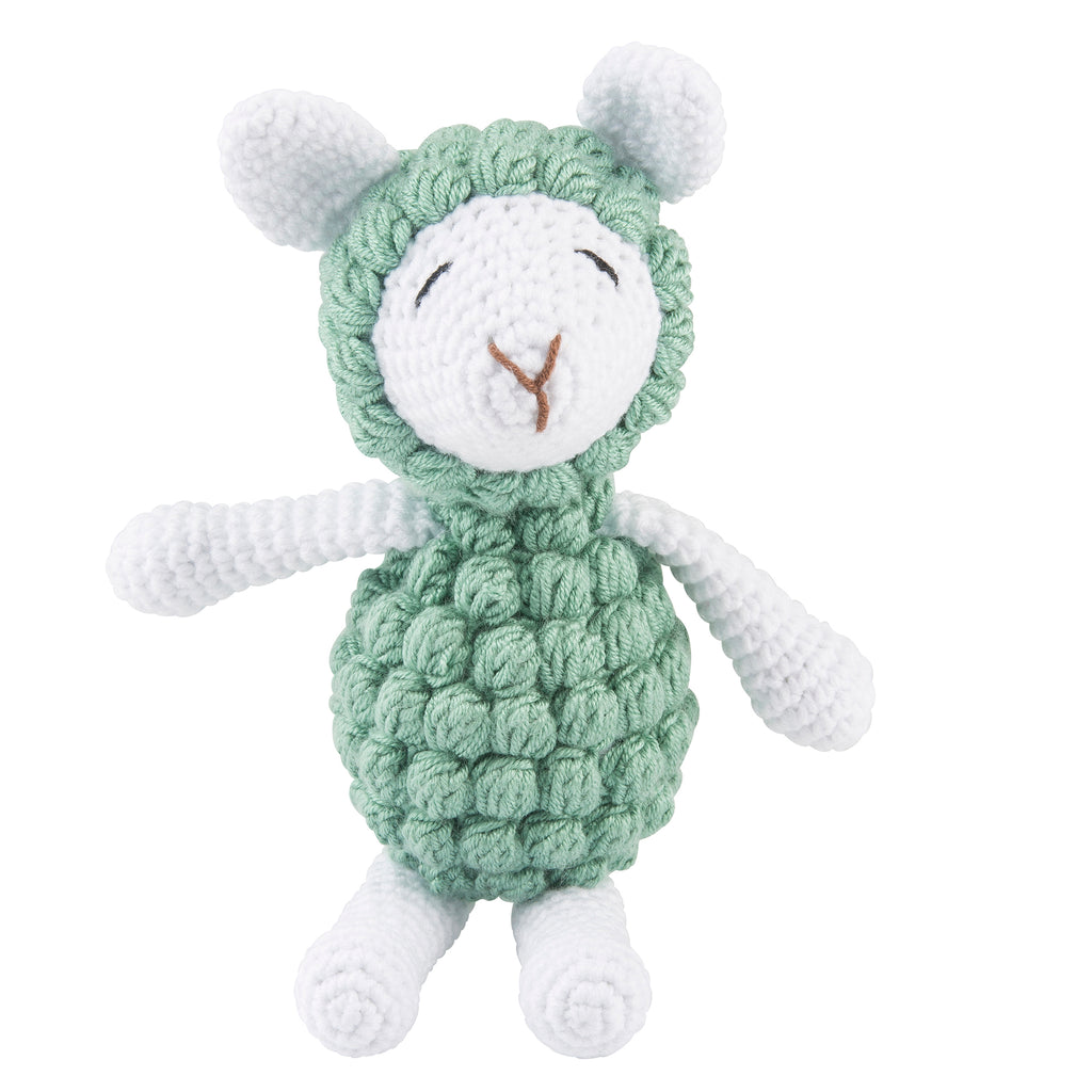 Lil' Pyar Knit Lamb; Large Knit Lamb; Green