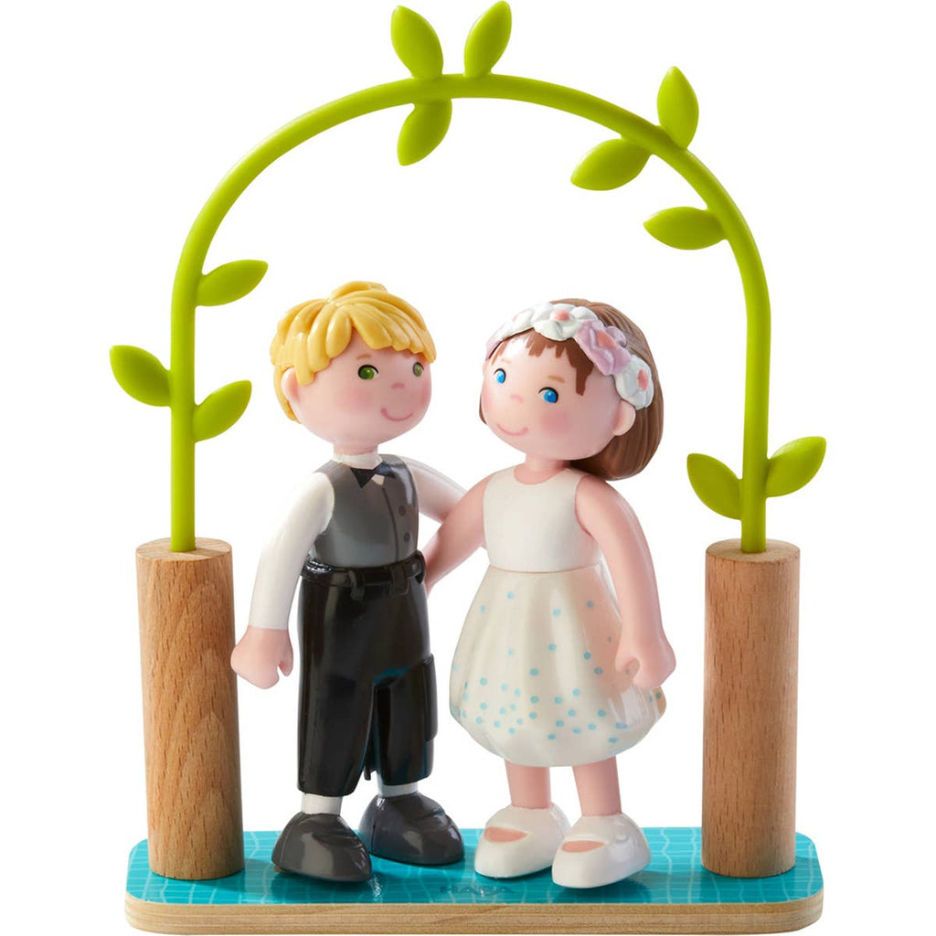 Bride & Groom Bendy Dolls by HABA