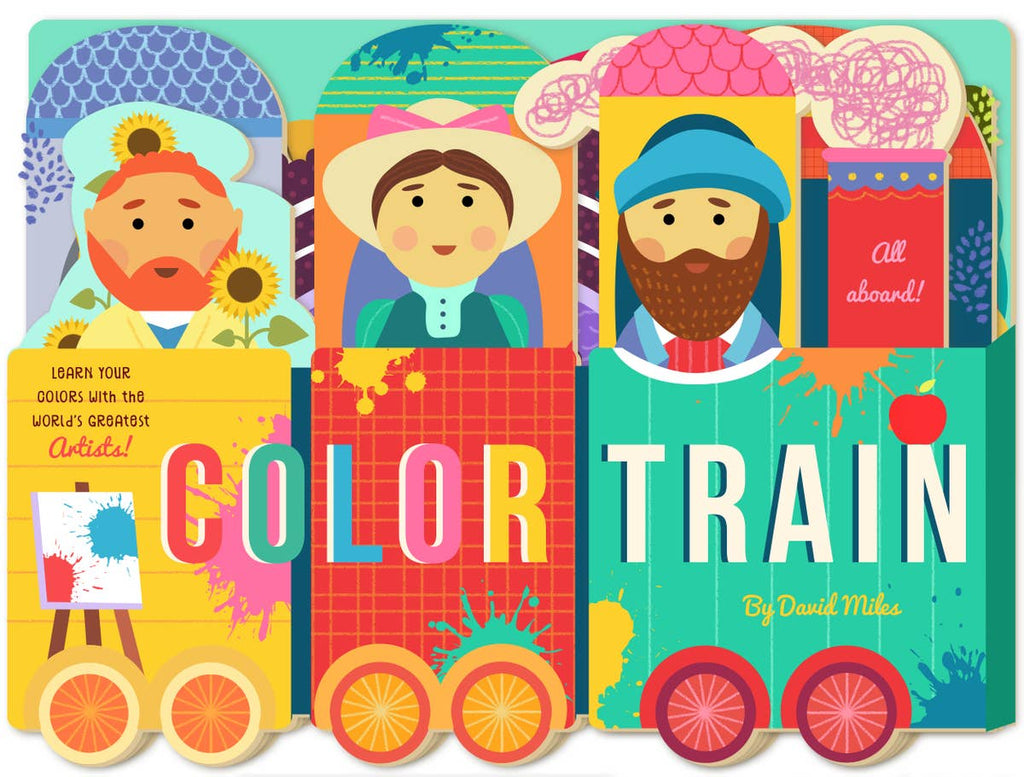 Color Train Children's Book