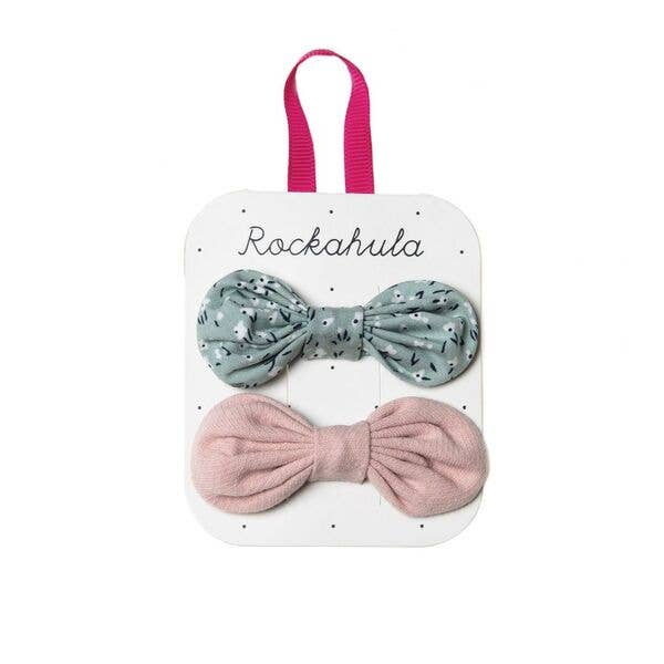 Ditsy Garden Bow Clips by Rockahula Kids